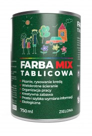 Farba MIX Tablicowa zielona
