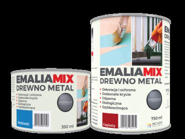 Emalia MIX Drewno Metal